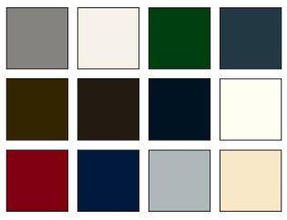 colour choices for alitherm
